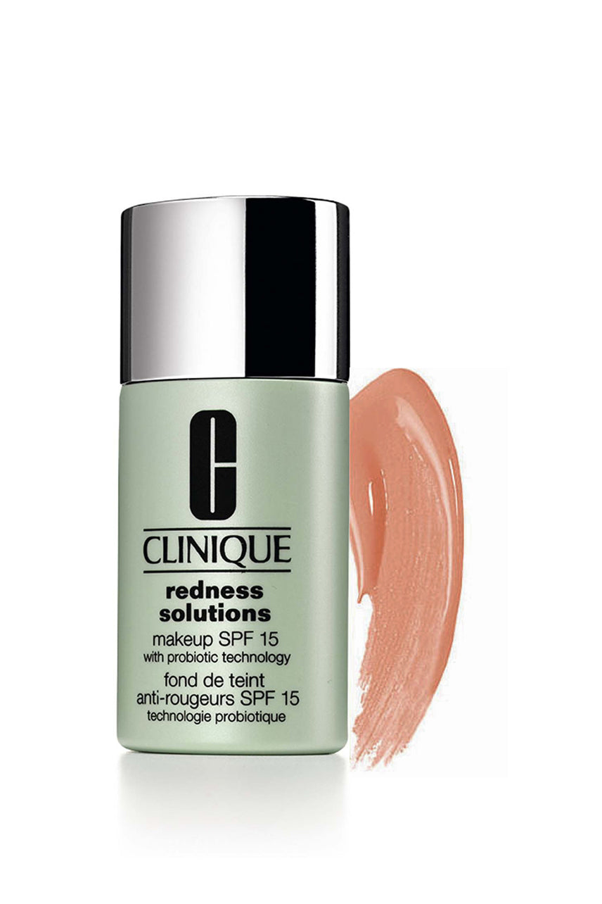 CLINIQUE Redness Solutions Makeup SPF15 With Probiotic Technology CN70 Calming Vanilla 30ml - Life Pharmacy St Lukes