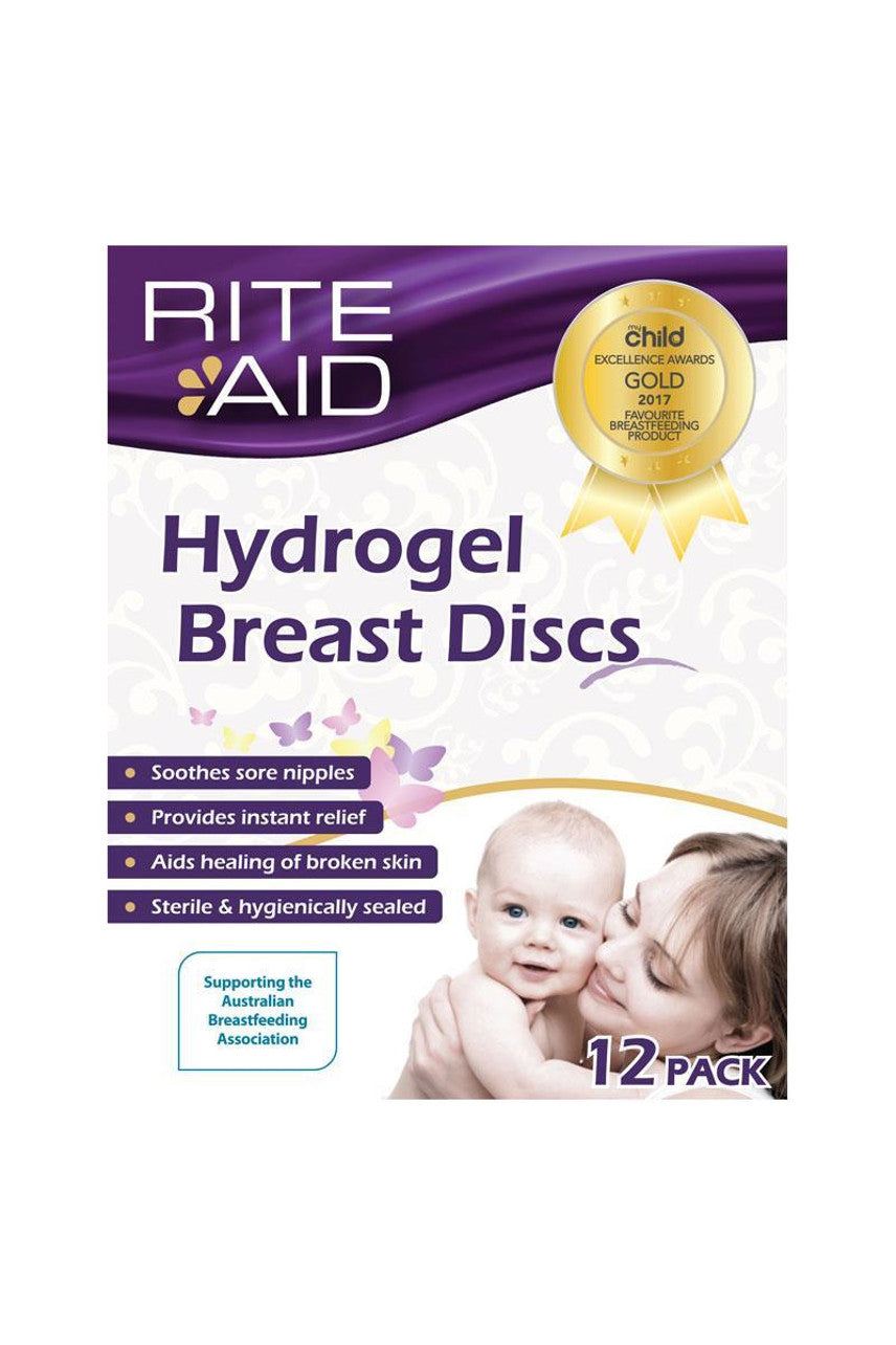 Rite Aid Hydrogel Breast Discs 12 - Life Pharmacy St Lukes