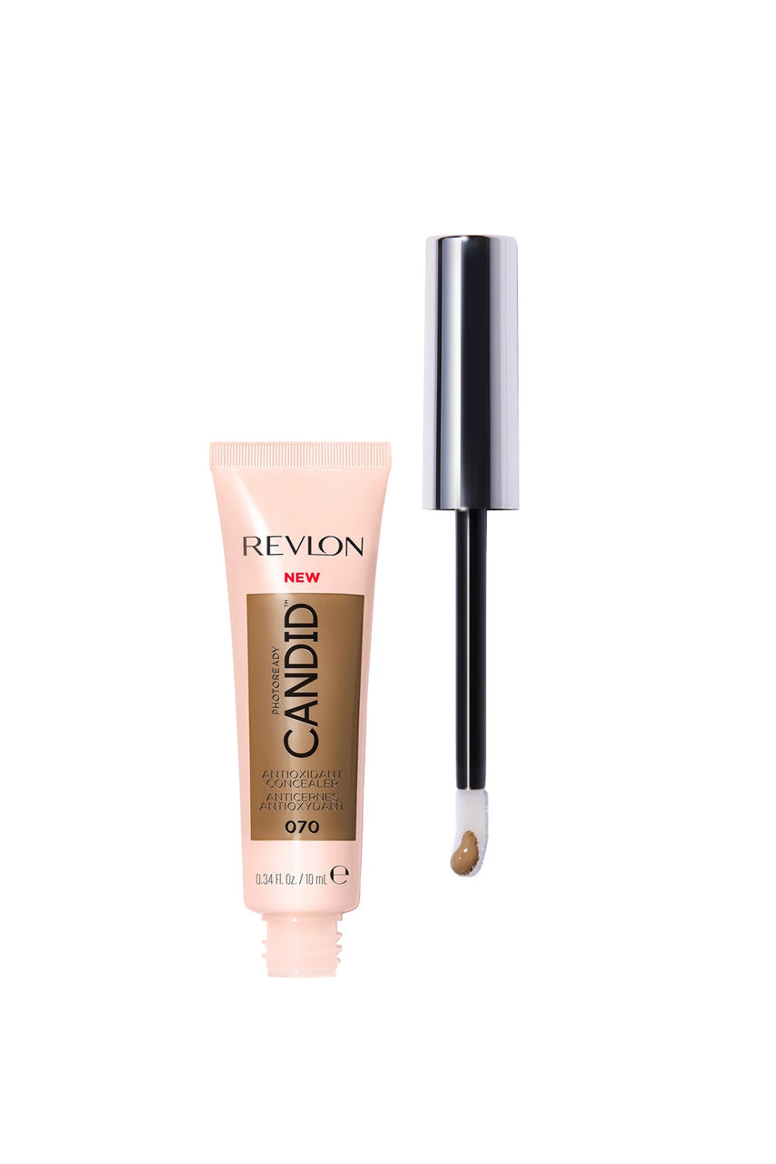 REVLON  PhotoReady Candid Antioxidant Concealer 070 Nutmeg 10ml - Life Pharmacy St Lukes
