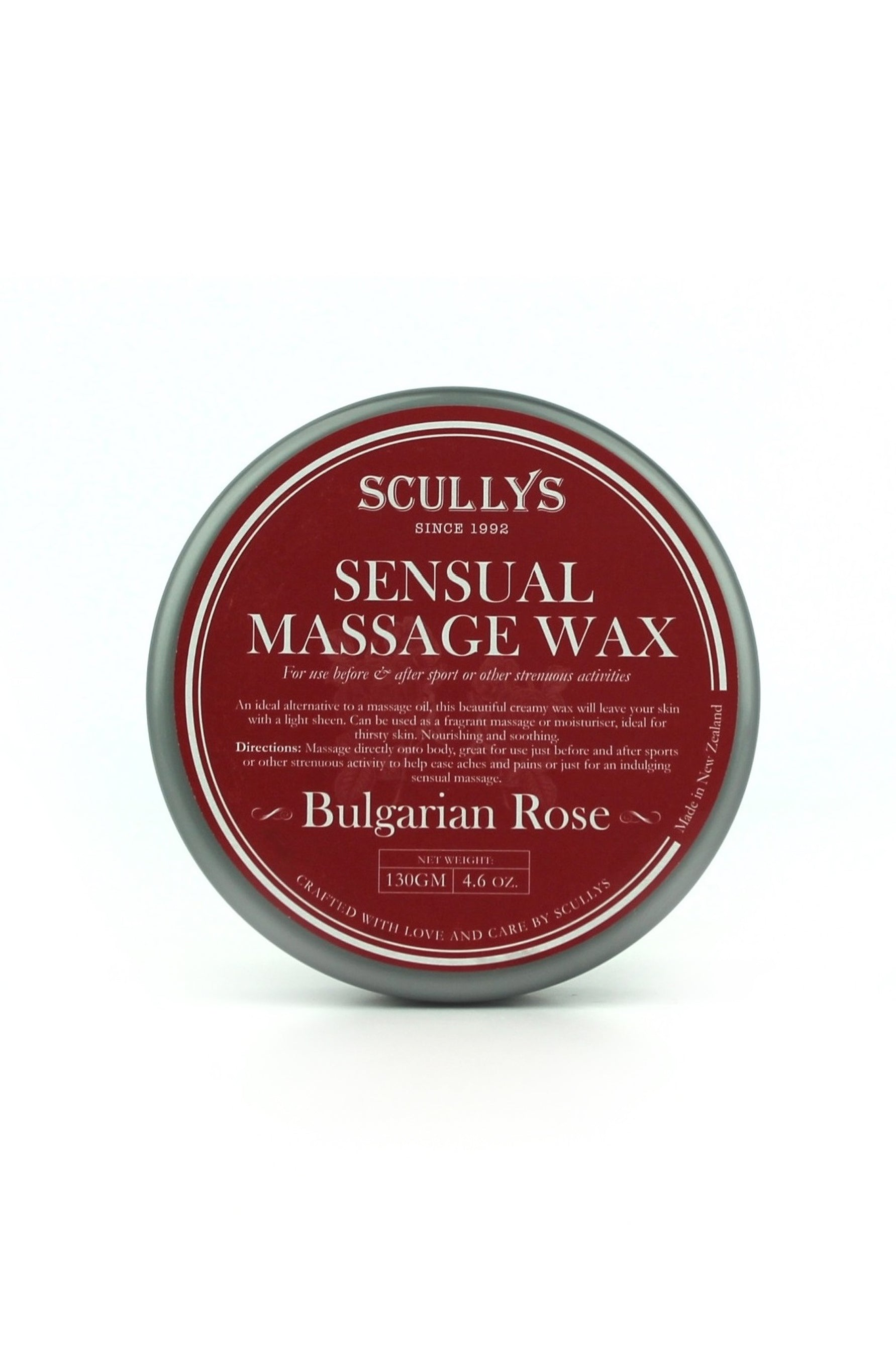SCULLYS Rose Sensual Massage Wax 130g - Life Pharmacy St Lukes