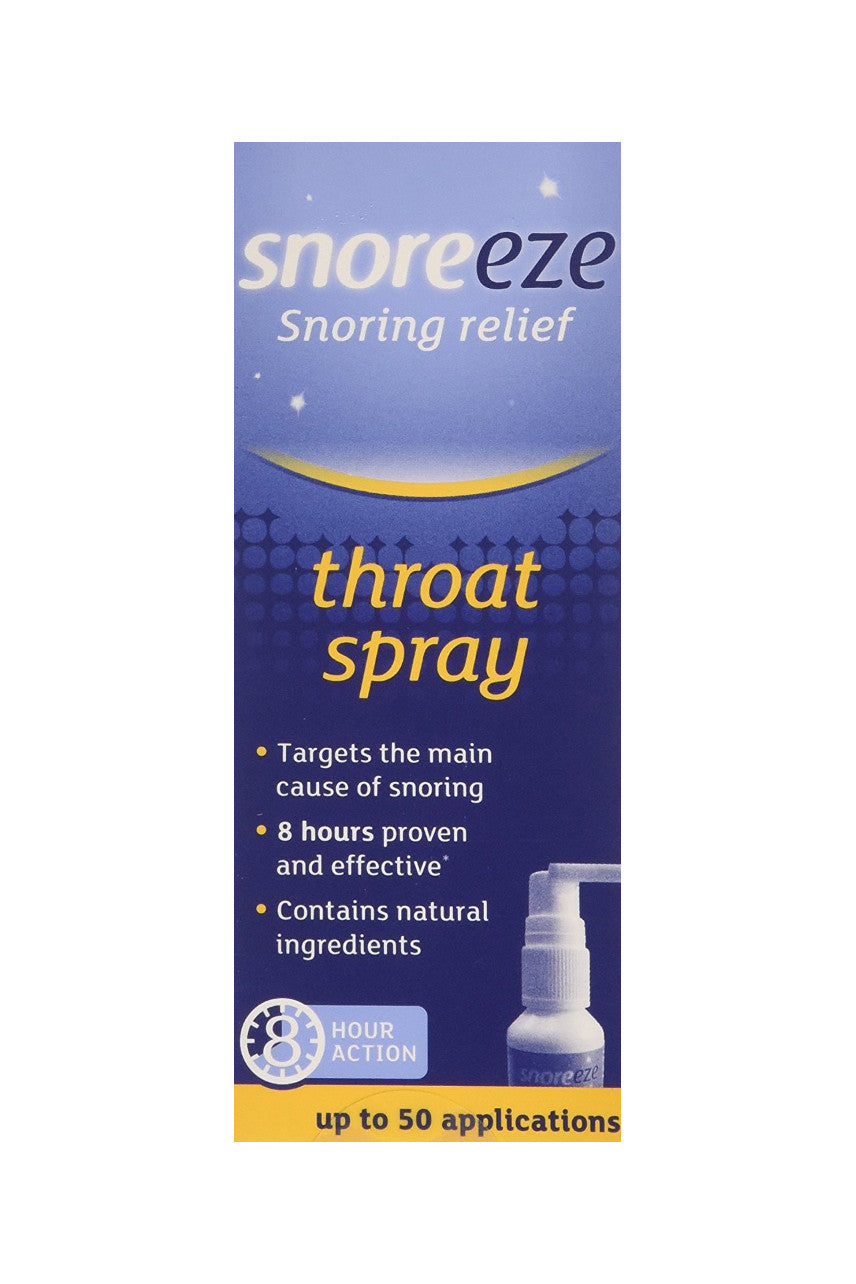 SNOREEZE Throat Spray 23.5ml - Life Pharmacy St Lukes