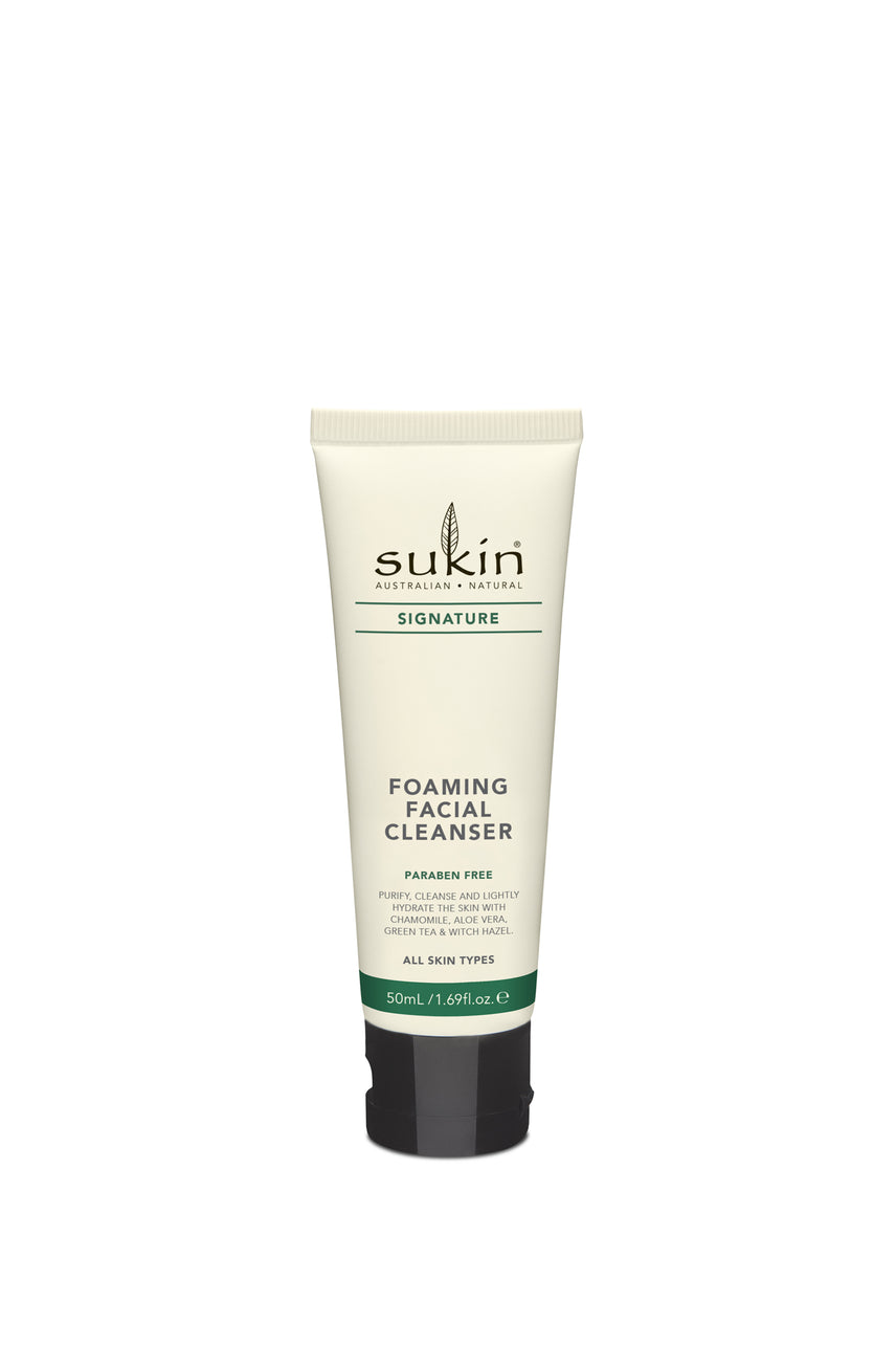 SUKIN Signature Foaming Facial Cleanser 50ml - Life Pharmacy St Lukes