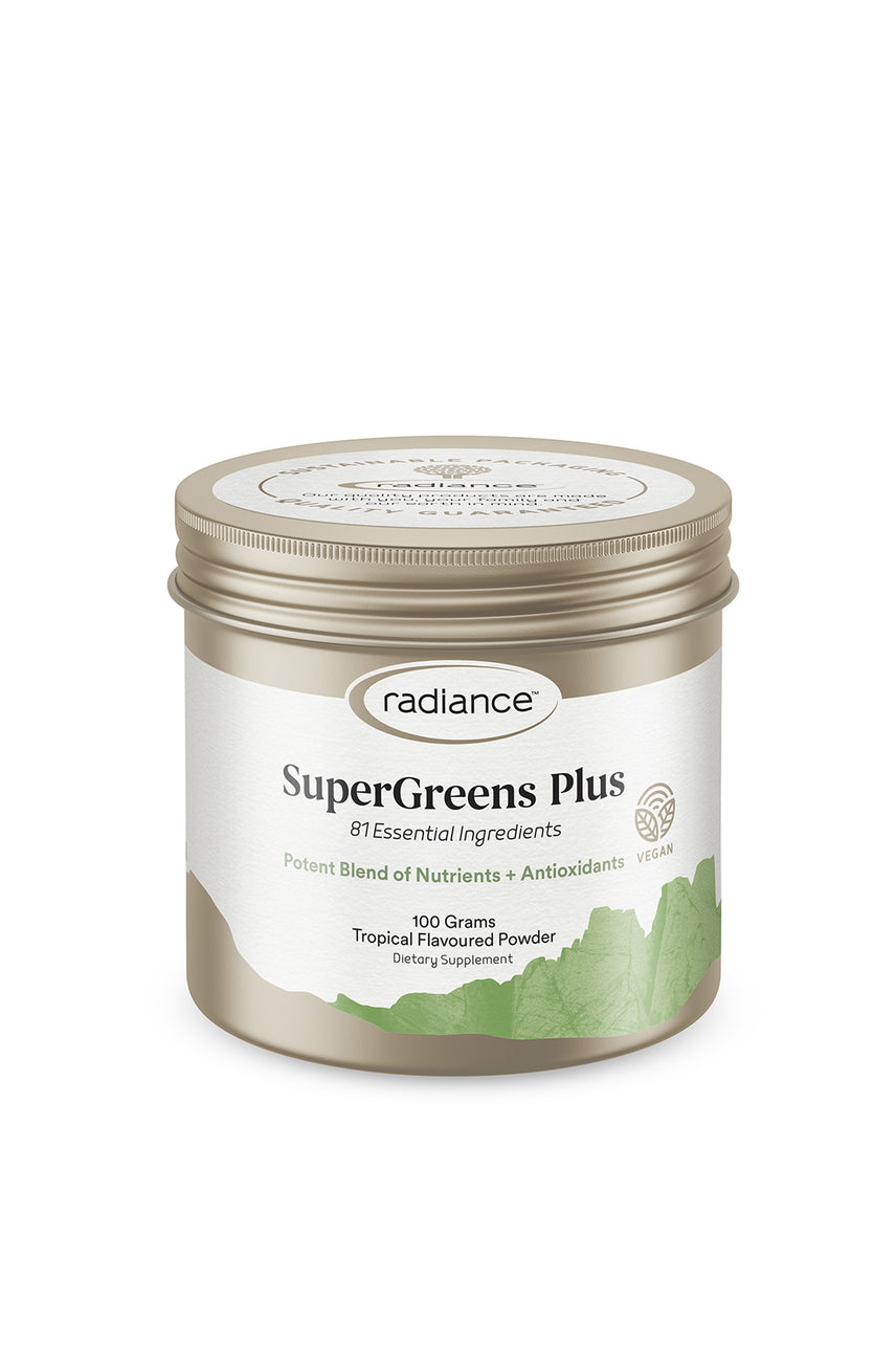 RADIANCE Superfoods Super Greens + Powder 100g - Life Pharmacy St Lukes