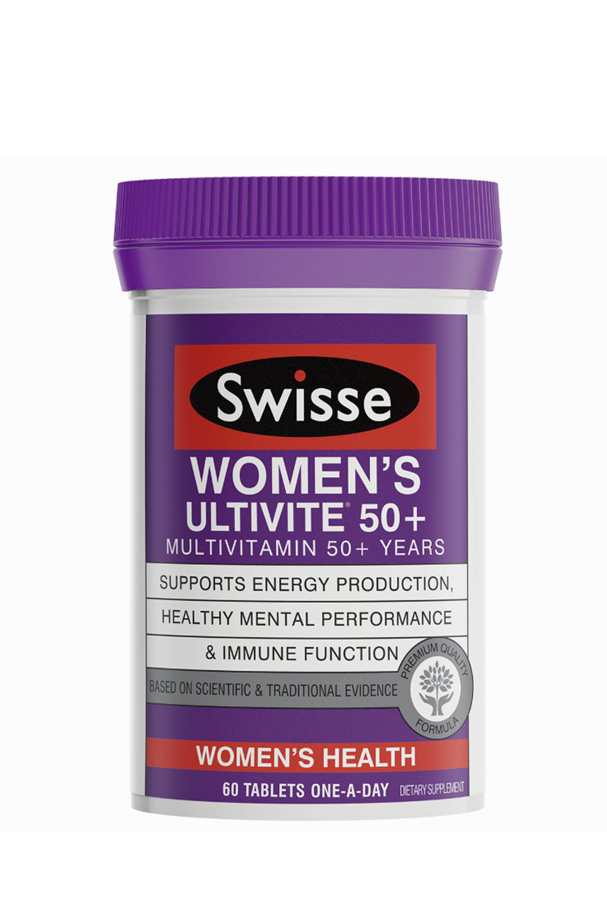 SWISSE Womens Ultivite 50+ 60 Tablets - Life Pharmacy St Lukes