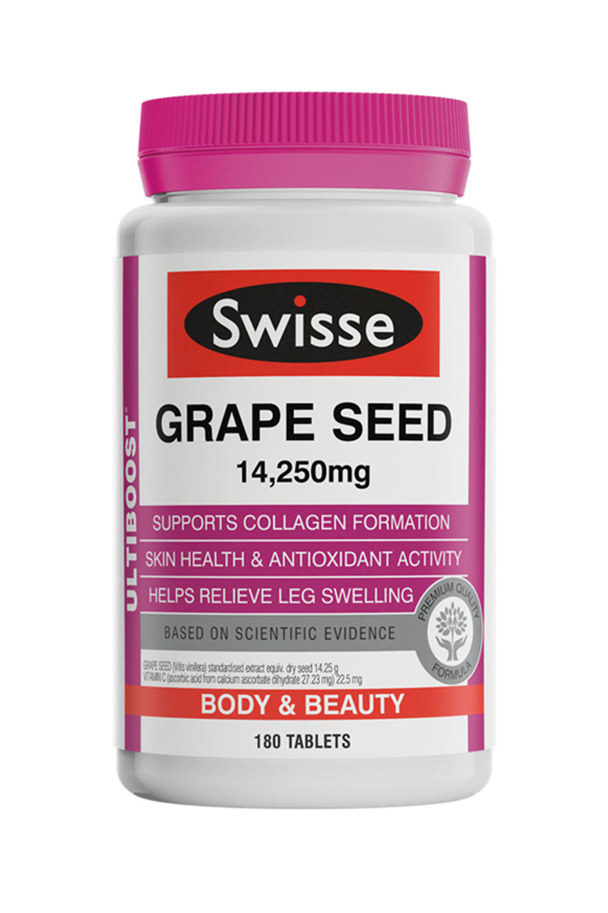 SWISSE Ultiboost Grapeseed 180tabs - Life Pharmacy St Lukes