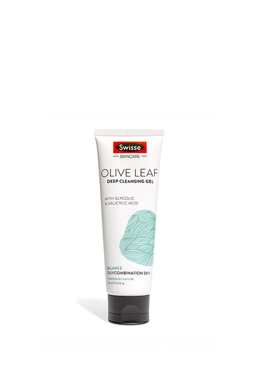 SWISSE Olive Leaf Gel Cleanser 125ml - Life Pharmacy St Lukes