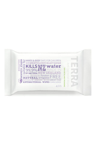 TERRA Antibacterial Wipes 40s Value Pack - 6x Pack - Life Pharmacy St Lukes