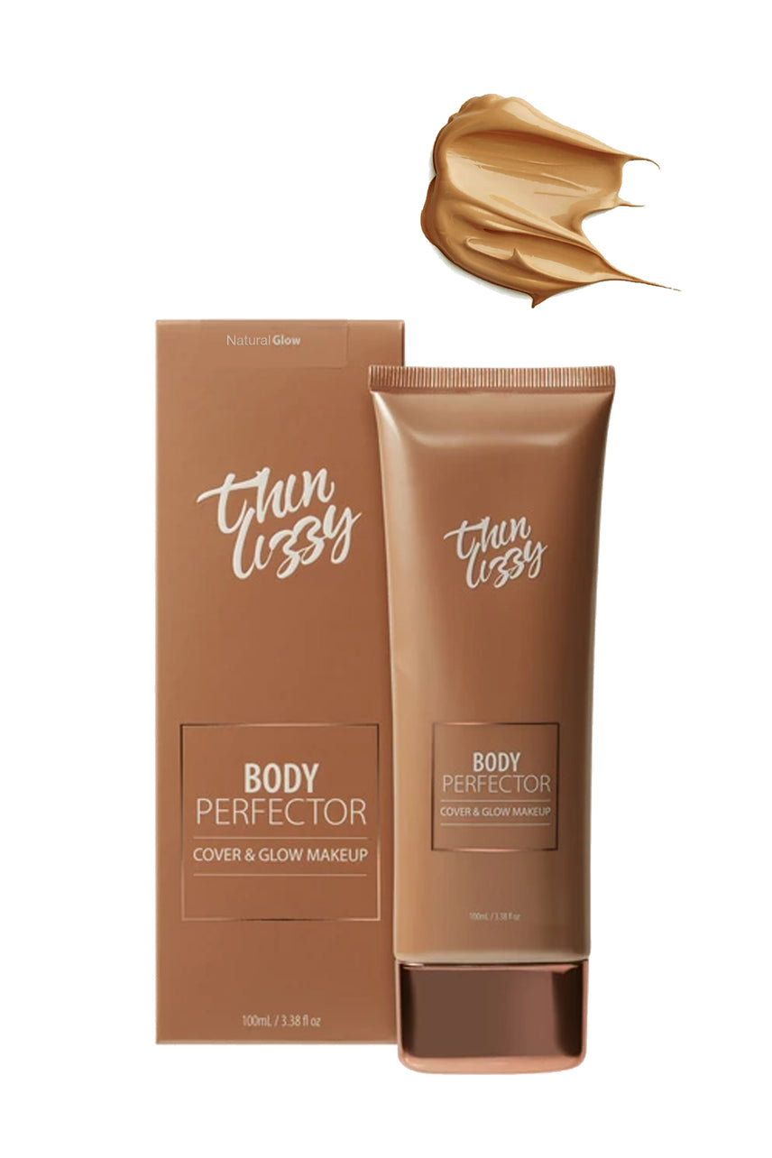 Thin Lizzy Body Perfector Cover & Glow Makeup Natural 100ml - Life Pharmacy St Lukes
