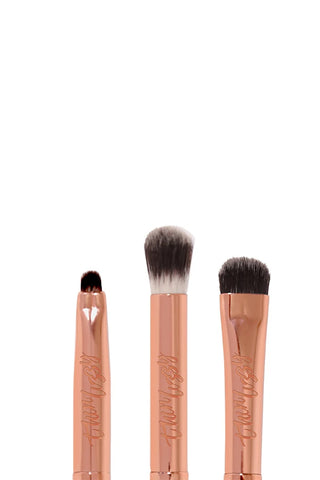 Thin Lizzy Flawless Finish Eye shadow Brush Set 3 Piece - Life Pharmacy St Lukes