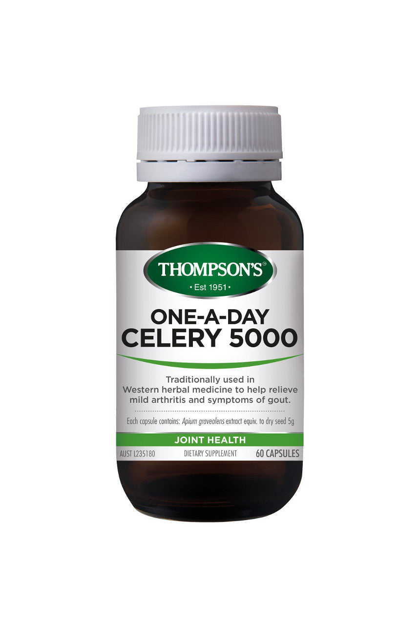 THOMPSONS Celery 5000mg OneADay 30caps - Life Pharmacy St Lukes