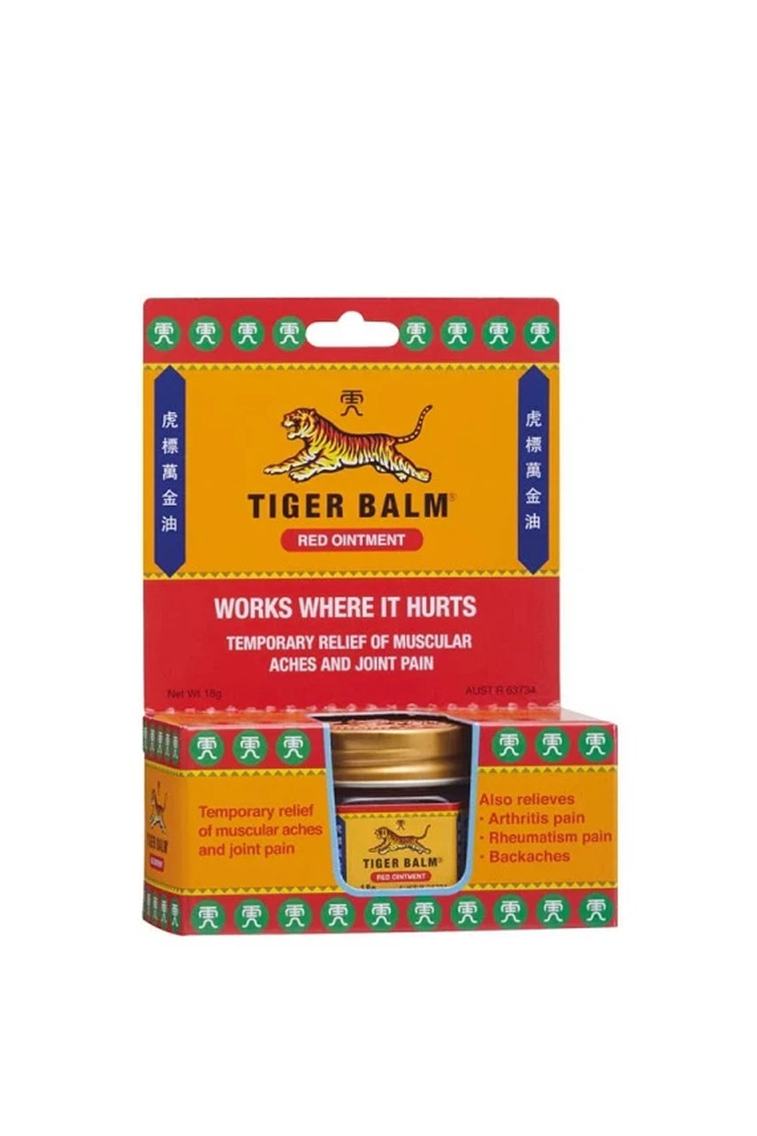 TIGER Balm 18g Red Extra Strength - Life Pharmacy St Lukes