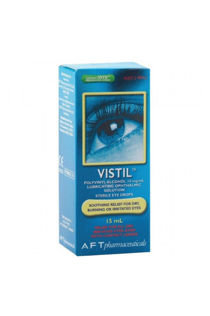 VISTIL EYE DROPS 15ml - Life Pharmacy St Lukes