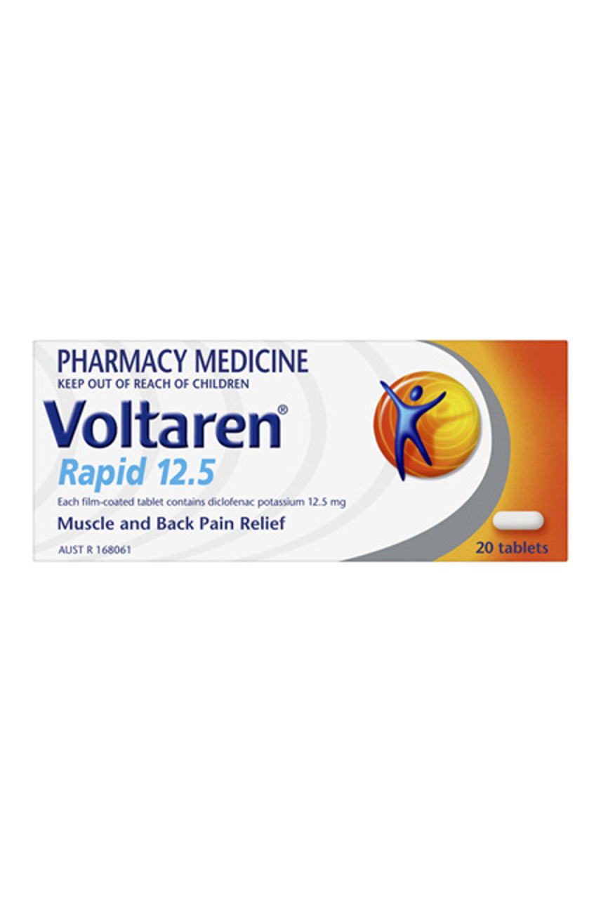 Voltaren Rapid Tabs 12.5mg 20s - Life Pharmacy St Lukes