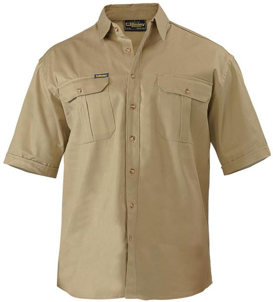 bisley cotton drill shirt