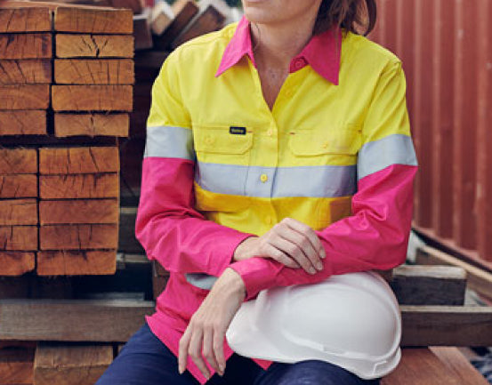 female tradie