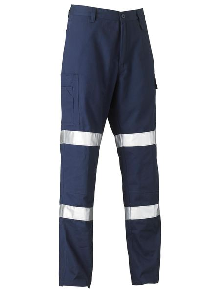 Bisley Bisley 3M Biomotion Double Taped Cool Lightweight Utility Pant - Navy (BP6999T) - Trade Wear