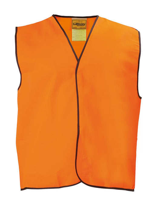 Bisley Hi Vis Vest - Orange - Trade Wear