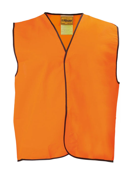 Bisley Hi Vis Vest - Orange (BK0345) - Trade Wear