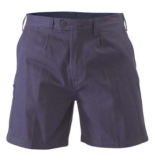 Bisley Work Short - Navy (BSH1007) - Trade Wear