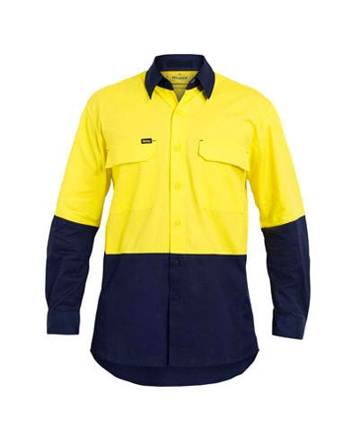 Bisley Bisley Hi Vis X Airflow™ Ripstop Shirt (BS6415) - Trade Wear
