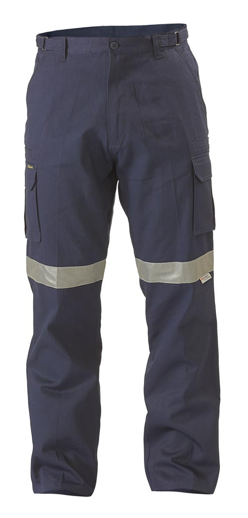 8 Pocket Cargo Pant 3M Reflective Tape - Navy