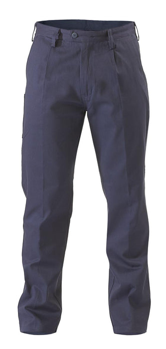 Bisley Original Cotton Drill Work Pant - Navy (BP6007) - Trade Wear