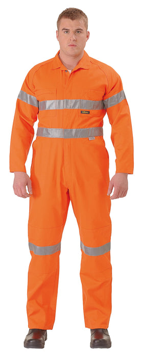 Bisley Bisley Hi Vis Coveralls 3M Reflective Tape - Orange (BC607T8) - Trade Wear