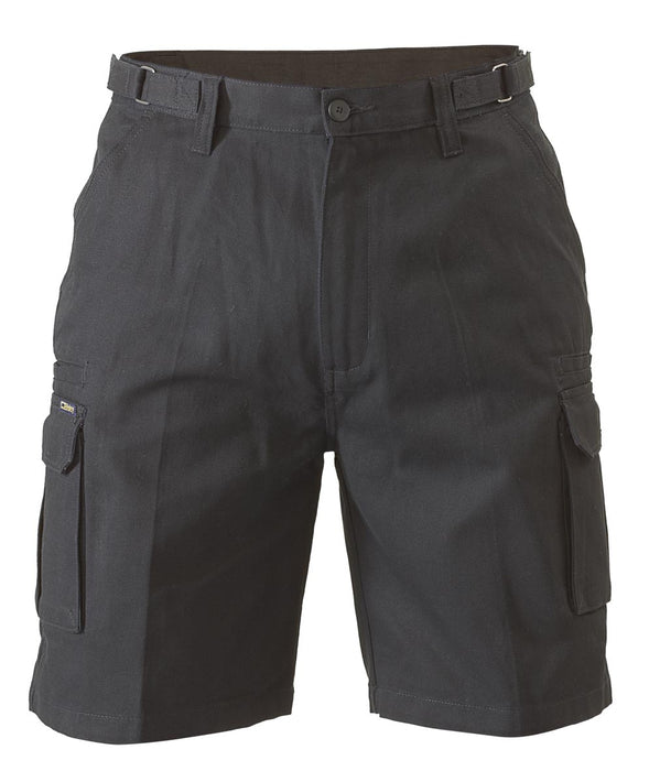 Bisley Bisley 8 Pocket Cargo Short - Black (BSHC1007) - Trade Wear