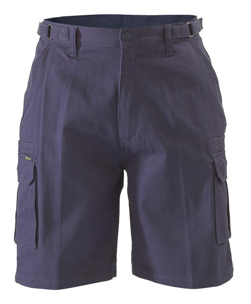 Bisley 8 Pocket Cargo Short - Navy (BSHC1007) - Trade Wear