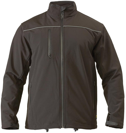 Bisley Bisley Soft Shell Jacket - Black (BJ6060) - Trade Wear