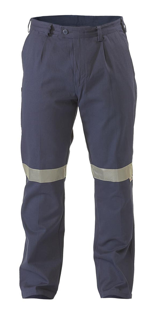 Bisley Bisley Original Work Pant 3M Reflective Tape - Navy (BP6007T) - Trade Wear