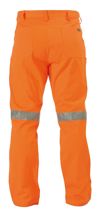 Bisley Bisley Original Work Pant 3M Reflective Tape - Orange (BP6007T) - Trade Wear