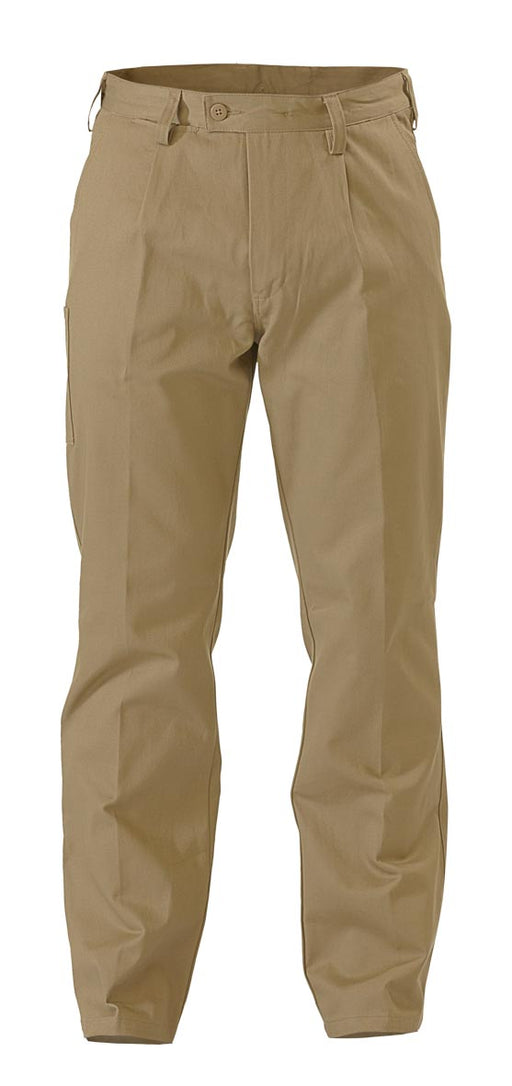 Bisley Bisley Original Cotton Drill Work Pant - Khaki (BP6007) - Trade Wear