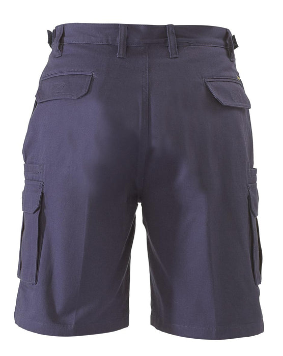 Bisley Bisley 8 Pocket Cargo Short - Navy (BSHC1007) - Trade Wear