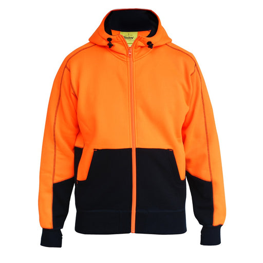 Bisley Hi Vis Fleece Hoodie - Trade Wear