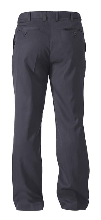 Bisley Permanent Press Trouser  - Navy - Trade Wear