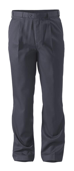 Bisley Bisley Permanent Press Trouser  - Navy (BP6123D) - Trade Wear