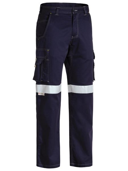 Bisley Bisley 3M Taped Cool Vented Lightweight Cargo Pant - Navy (BPC6431T) - Trade Wear