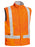 Bisley Bisley 3M Taped Hi Vis Wet Weather Anti Static Vest (BV0363T) - Trade Wear