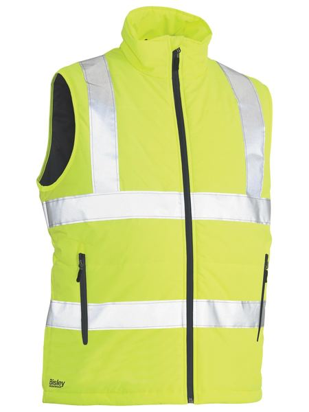 Bisley Bisley Taped Hi Vis Puffer Vest (BV0329HT) - Trade Wear