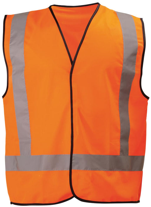 Bisley Bisley X Taped Hi Vis Vest - Orange (BT0347) - Trade Wear