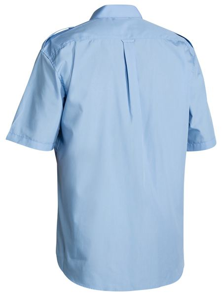 Bisley Bisley Epaulette Shirt Short Sleeve (B71526) - Trade Wear