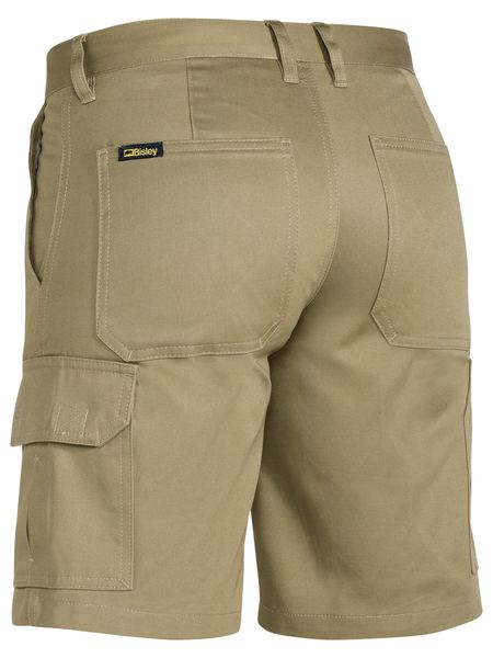 Bisley Bisley Womens Drill Light Weight Utility Short (BSHL1999) - Trade Wear