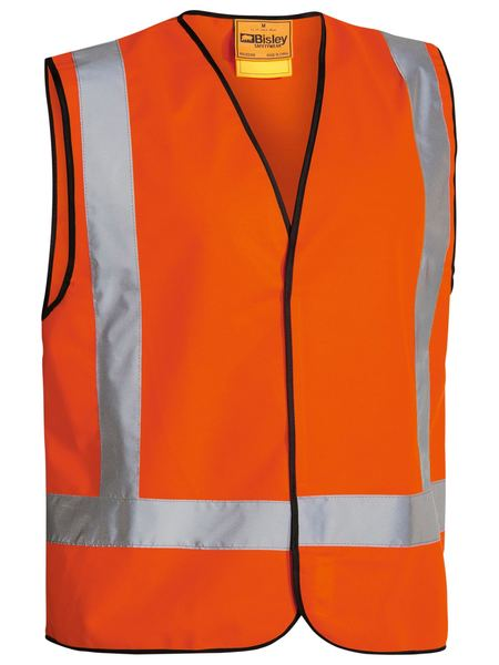Bisley Bisley X Taped Hi Vis Vest (BT0347) - Trade Wear