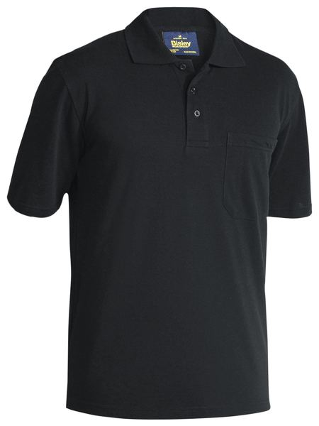 Bisley Bisley Mens Poly/Cotton Polo Shirt (BK1290) - Trade Wear
