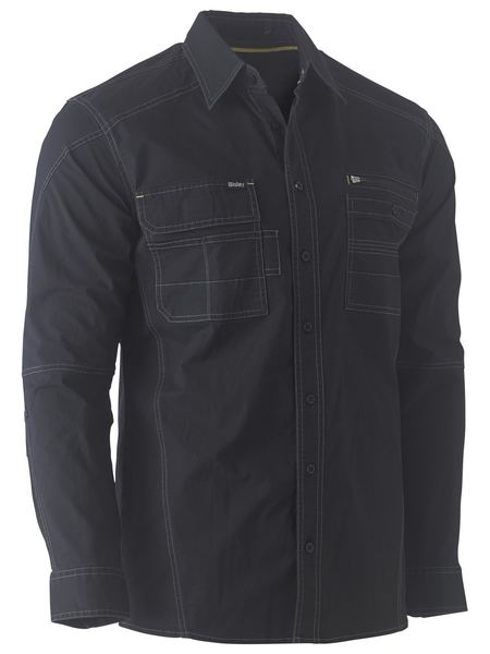 Bisley Flex & Move™ Utility Work Shirt - Long Sleeve (BS6144) - Trade Wear