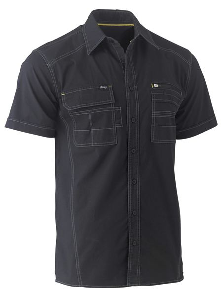 Bisley Bisley Flex & Move™ Utility Work Shirt - Short Sleeve (BS1144) - Trade Wear