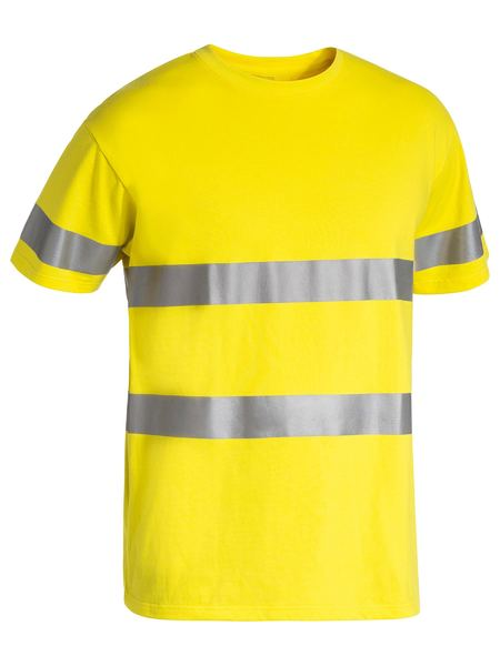 Bisley Bisley 3M Taped Hi Vis Cotton T-Shirt (BK1017T) - Trade Wear