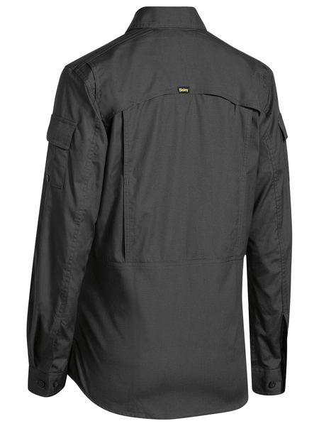 Bisley Bisley Womens X Airflow Ripstop Shirt - Charcoal (BL6414) - Trade Wear