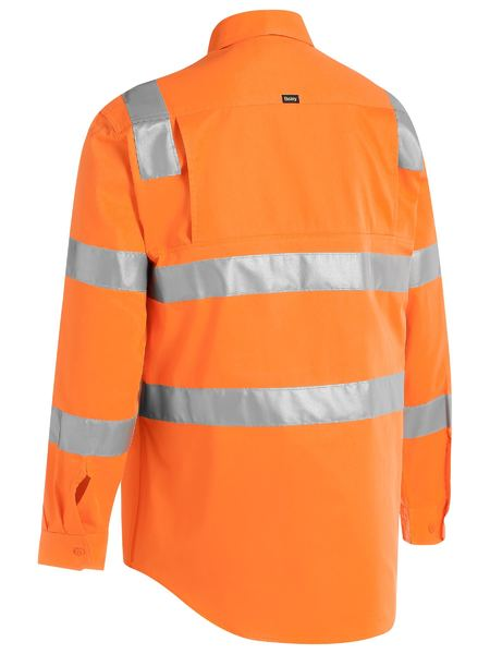 Bisley Bisley Taped Hi Vis Bio Motion Shirt (BS6016T) - Trade Wear